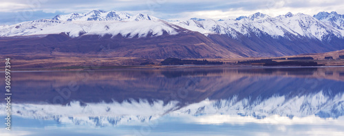Fototapeta New Zealand lakes obraz