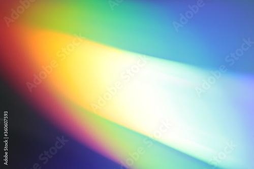 tęczowe kolory