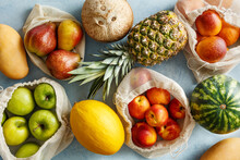Various Organic Fruits In Reus...