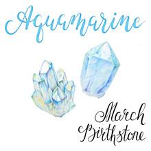 March Birthstone Aquamarine Is...