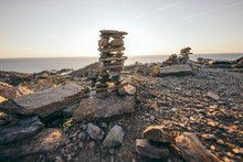 A Rocky Island In The Middle O...