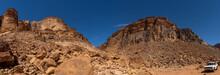 Mountains In Wadi Rum Dessert, Jordan