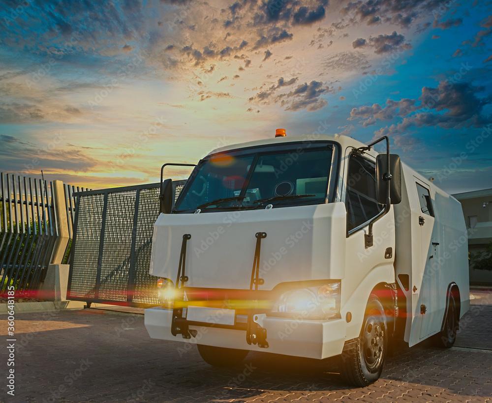 Fototapeta armored truck