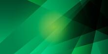 Green Light Presentation Background. Vector Illustration Design For Presentation, Banner, Cover, Web, Flyer, Card, Poster, Wallpaper, Texture, Slide, Magazine, And Powerpoint.
