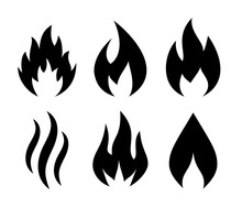 Flame And Fire Vector Icon