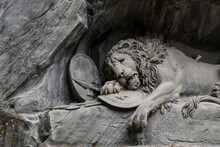 Old Stone Sculpture The Death ...