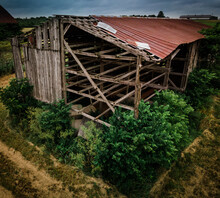 Abandoned Tobaco Drying Barn I...