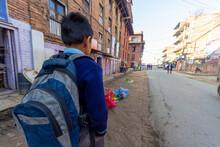 Kathmandu, Nepal - CIRCA 2020:...