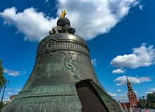 Tsar Bell In Kremlin.
