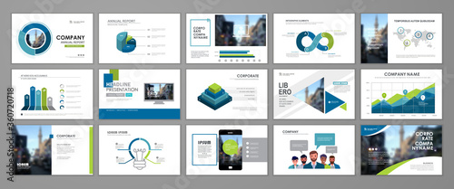Fotografia, Obraz Presentation templates design