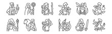 12 Set Of Linear Roleplaying A...