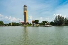 Roiet City Skyline In Thailand