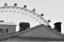 London Eye Millennium Wheel Cantilevered Observation Wheel In London UK