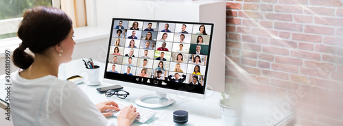 Online Video Conference Call - 360810997