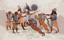 Sumerian Civilization Banner. ...