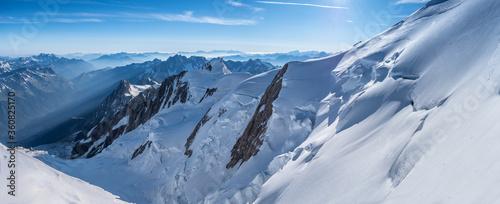Mont Blanc panorama 1 Tapéta, Fotótapéta
