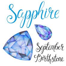 September Birthstone Sapphire ...