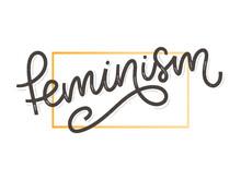 Typographic Design. Feminism L...