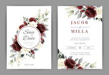 Wedding Invitation Card Set Wi...