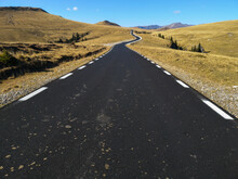 Mountain Road. Landscape With ...