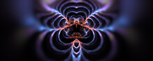 Abstract Energy Background Wit...