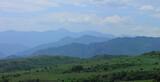Azerbaijan. Beautiful relief of the mountains.