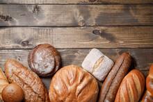 Bakery Background - Variety Of...