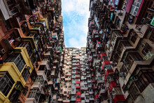 Overcrowded Residential Buildi...