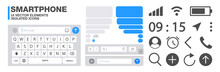 Smartphone UI Elements Set –...