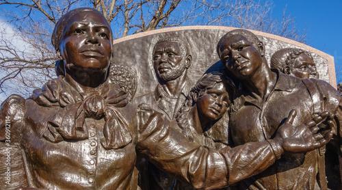 statue of Harriet Tubman Canvas Print