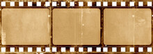 Film Strip Template With Frame...