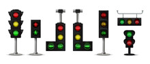 Traffic Light. Realistic City ...