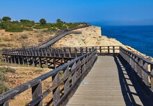 Carvoeiro Boardwalk In South P...