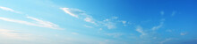 Blue Sky With White Clouds Pan...