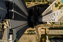 Aerial Photo Building Shadow L...