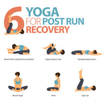 6 Yoga Poses For Workout In Po...