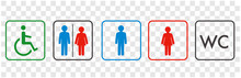 Icon Of Toilet Restroom Wc Ve...
