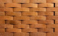 Irregular Orange Brick Arrange...