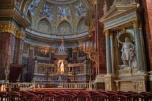 Beautiful Interior Of Catholic...