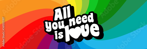 Fotografía All you need is love
