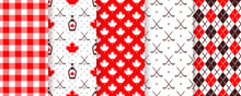 Canada Seamless Pattern. Vecto...
