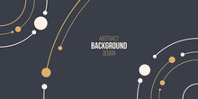 Abstract Background, Poster, B...