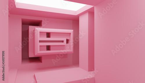 Fototapeta Futuristic Architecture Design obraz