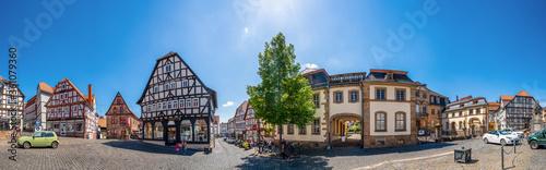 Cuadros en Lienzo Marktplatz, Lauterbach, Hessen, Deutschland