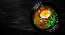 Japanese Ramen Soup With Tofu ...