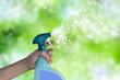 Leinwanddruck Bild - conceptual de limpieza e higiene
