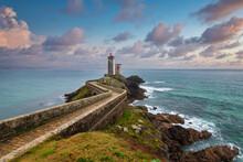 Phare De Petit Minou En Bretagne