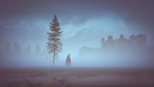 Warlock Walking In The Mist Ne...