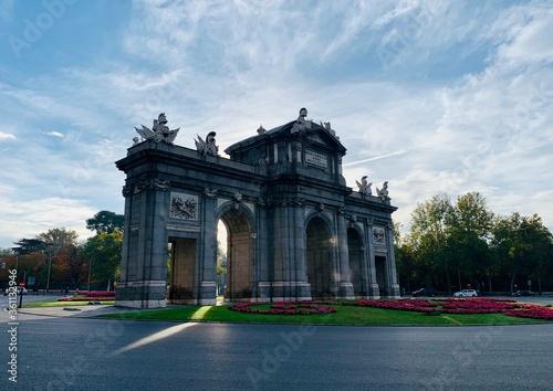 Fotografía triumphal arch in paris