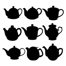 Teapots For Making Tea In The ...
